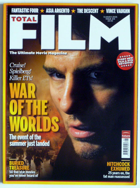 Total Film Magazine Issue 104 Tom Cruise Alfred Hitchcock Vince