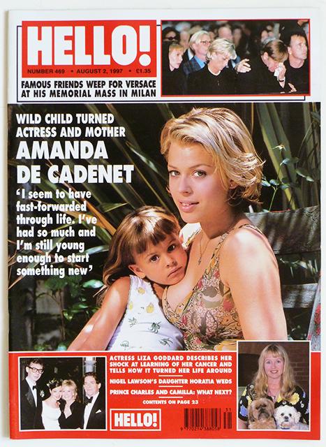 Amanda De Cadenet parents