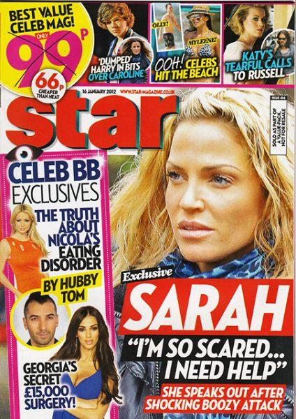 Celebrity Big Brother 2012: Nicola McLean and Frankie